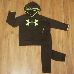 Boys Under Armor Athletic 2 piece set